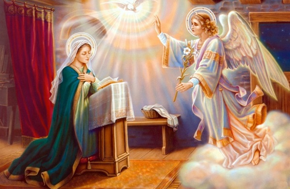 Благовещение Богородицы (7 апреля). Обряды, приметы и Ангелы